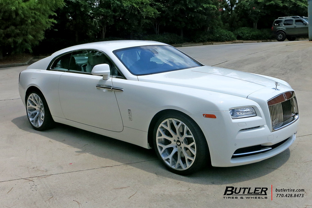 Rolls Royce Wraith With 22in Forgiato Drea Ecl Wheels And Flickr