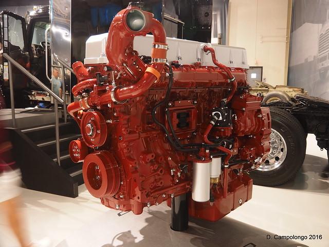 Mack/Volvo Engine - Mack Trucks Museum - Allentown PA