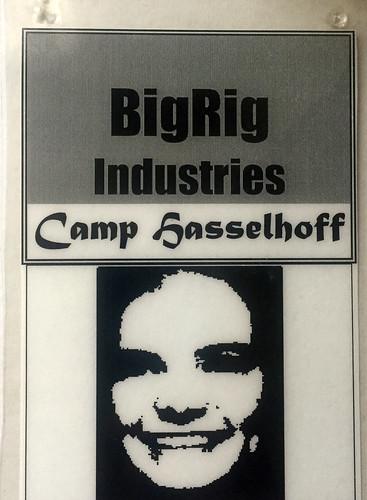 Camp Hasselhoff at Burning Man 1995   by Rusty Blazenhoff