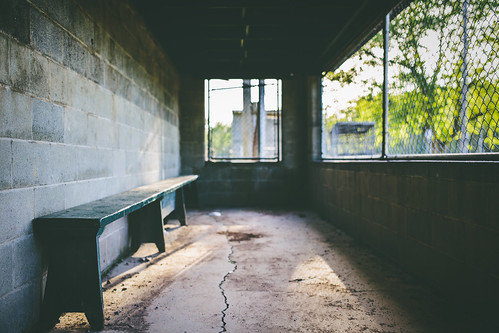 Empty Dugout After the Game | by DavioTheOne