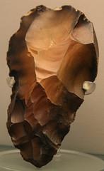 Paleolithic flint tool