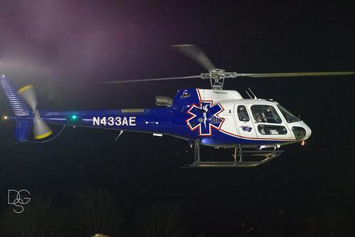 oklahoma night football highschool helicopter hover keota