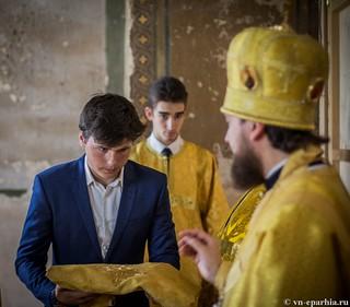 Литургия в Ильинском соборе 460