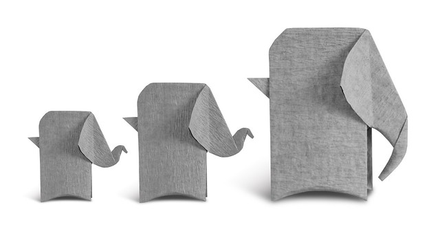 Origami Elephants (Rui Roda)