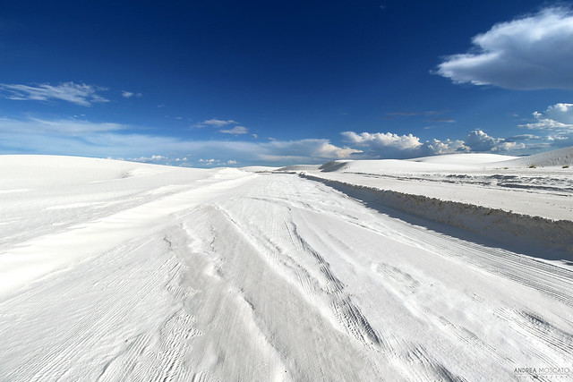 Dunes Drive Loop, White Sands National Monument - New Mexico