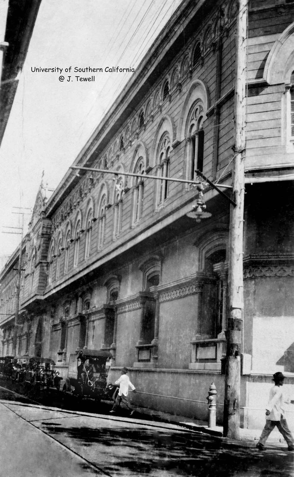 (2) St. Paul's Hospital, Intramuros, Manila, Philippines, 1927