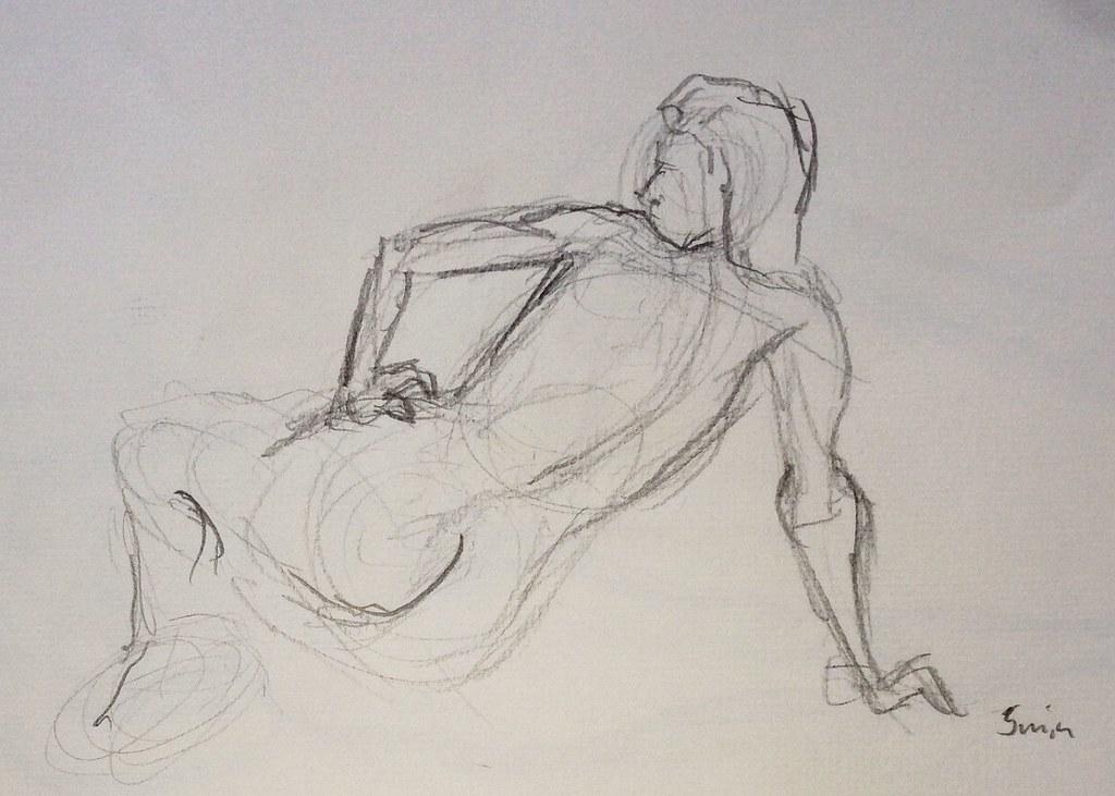 Life drawing, 1-10min