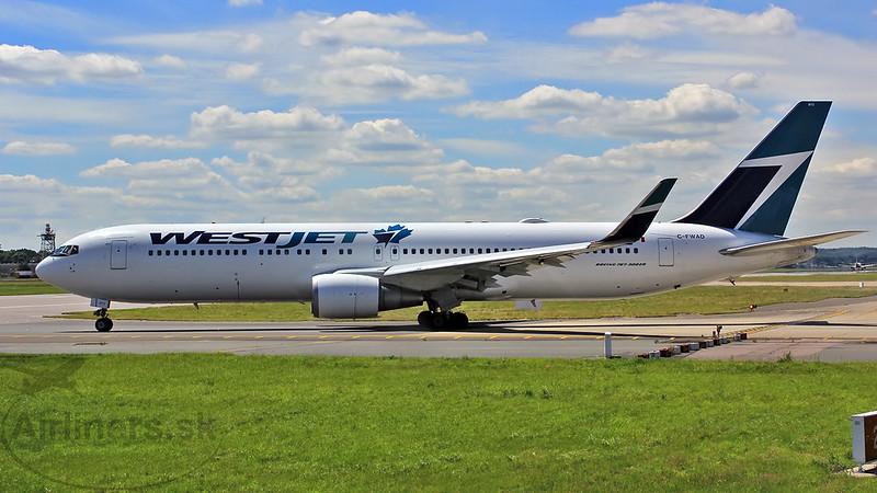 C-FWAD WestJet Boeing 767-338(ER)(WL)