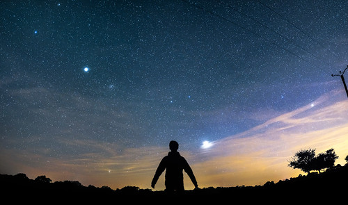 Astrophotography Panorama Test Shot