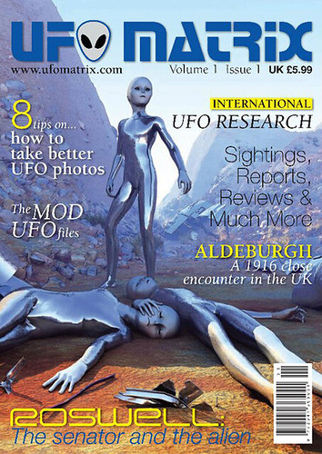 UFO Matrix Magazine Issue 1 | by Green Earth Publishing