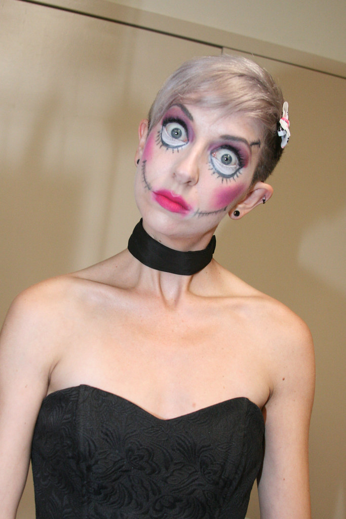 Female Clown Makeup