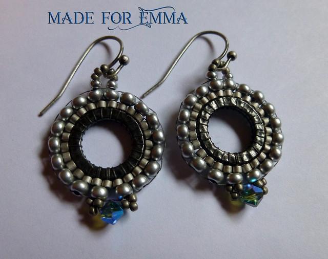 Emma's earrings I made ♥