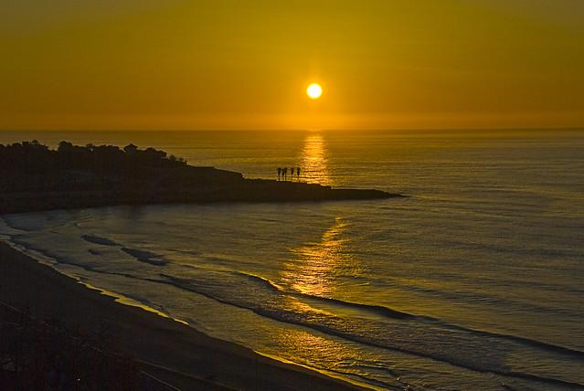 amanecer en Tarragona