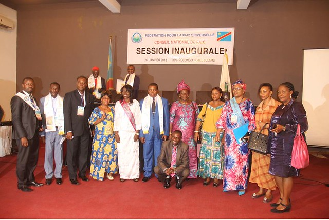 D.R.Congo-2018-01-26-DRC National Peace Council Holds Inaugural Session