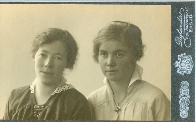 Two women from Eksjö