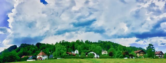 Clouds over Kiefersfelden, Bavaria, Germany
