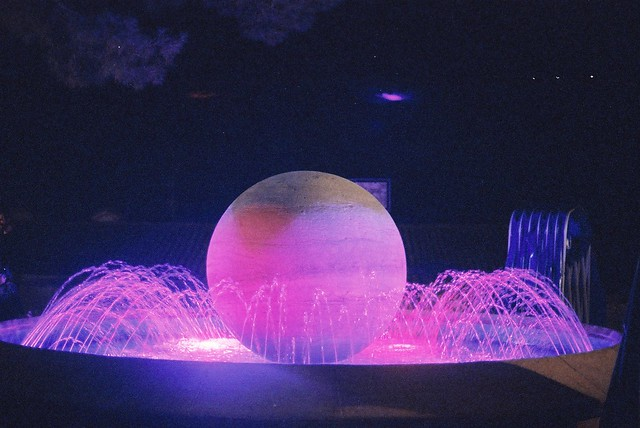 Coloured Fountain