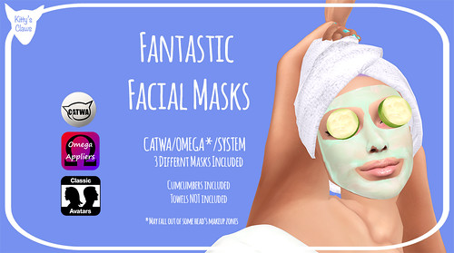 Kitty's Claws: Fantastic Facial Masks