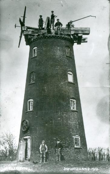 Ellerker Mill (Demolition) 1913 (archive ref DDEY-1-67)
