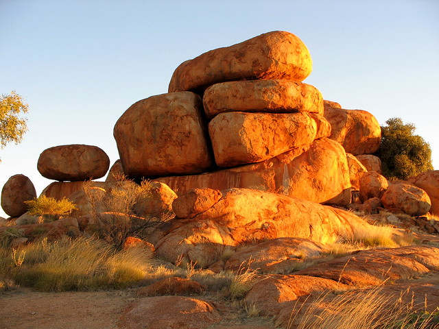 Devil's Marbles - Sunset