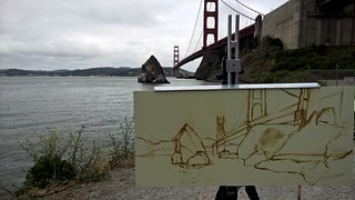 Drawing from Golden Gate during Richard Robinson's Workshop | by zedshaw