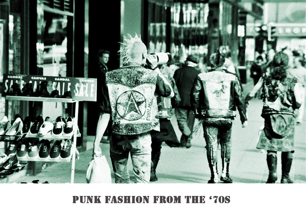 Punk Fashion 70s Punk Fashion From 1970s It Became Quite
