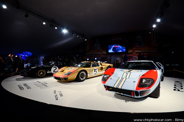 Ford GT40 MkII trio - 24 Heures du Mans 2016