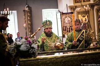 Божественная Литургия в д.Леохново 190