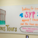 SYP students checking in!