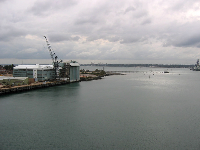 The River Itchen at Southampton