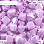 PRECIOSA Pyramids - 111 01 336 - 02010/25012 - Violet