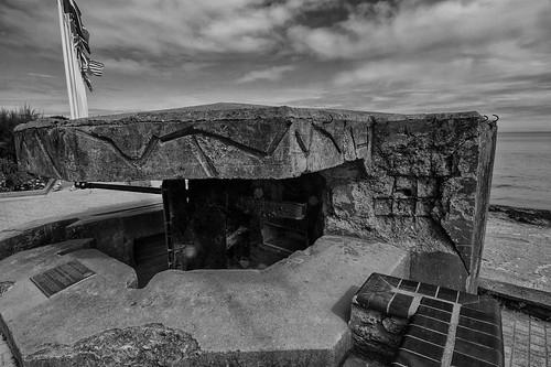 Gun emplacement of  WN27 - Juno Beach, St. Aubin Sur-Mer