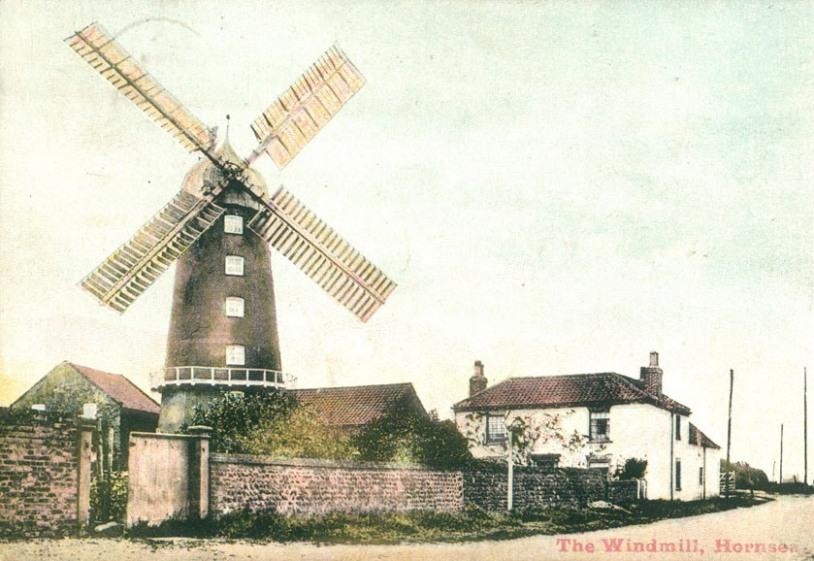 Hornsea Windmill 1900 (archive ref PO-1-65-46)