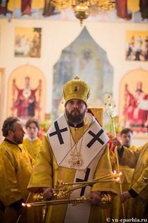 Литургия в Ильинском соборе 250