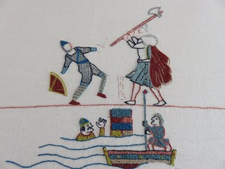 Untitled   by Stamford Bridge Tapestry Project