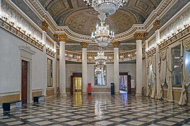 La salle de bal du Palais royal (musée Correr, Venise)