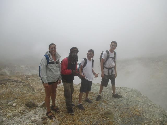 Francis, Boiling Lake Hike, Dominica