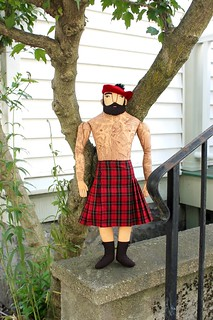 man, hat, kilt | by Mimi K