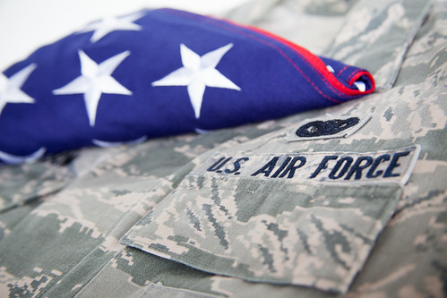U.S. Air Force uniform - American flag - US Military | by veteranscallusa