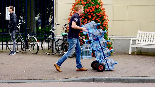 Den Haag ,temperatuur boven de 25 graden