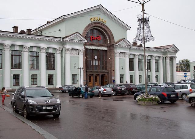 Vyborg's Railway Station (Viipuri), Russia