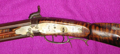 Swivel Breech Percussion Rifle By Samuel Loudenslager