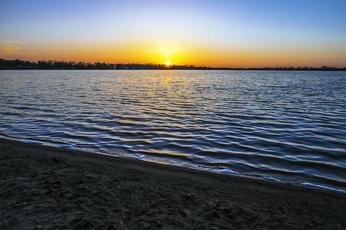 trees sunset lake beach water alexandria minnesota lakeagnes