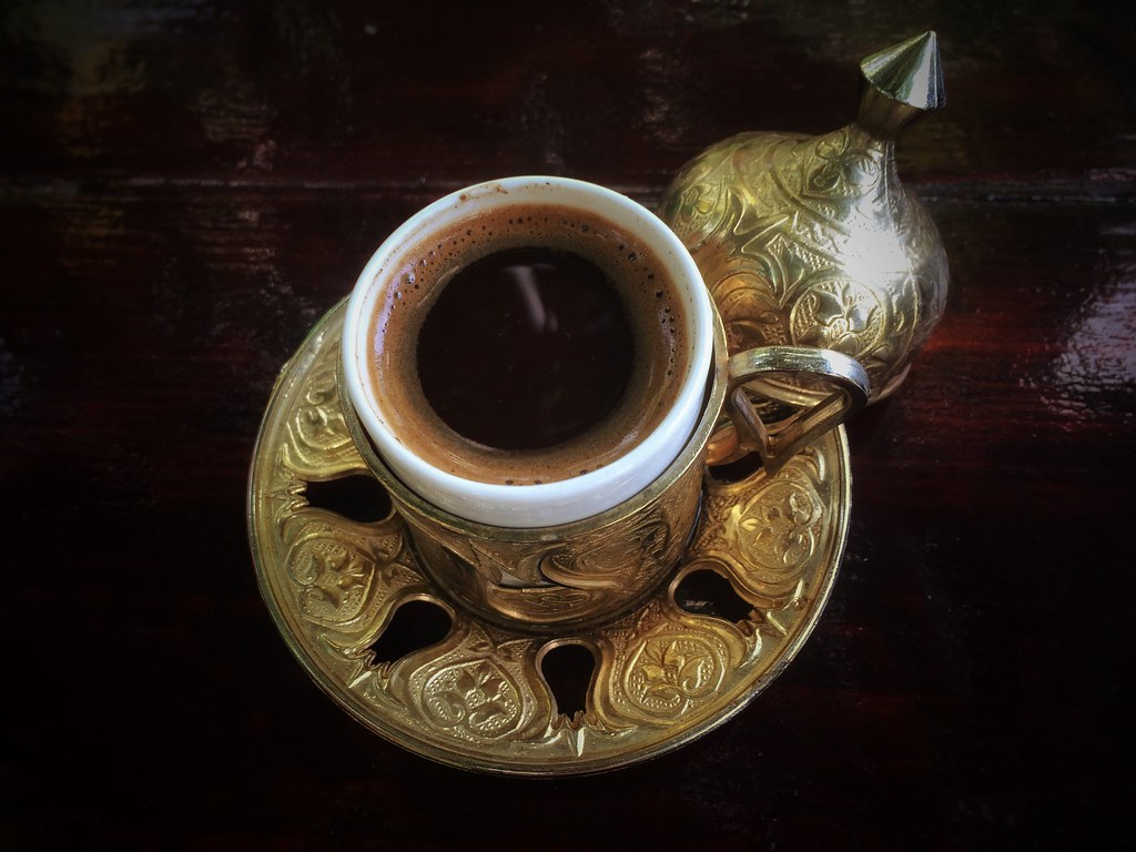 Afternoon Turkish coffee time