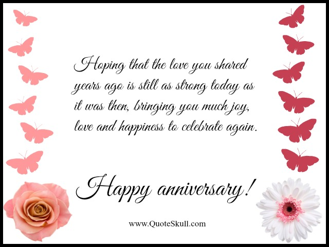 Happy Anniversary Quotes for Grandparents | Parents play an ...