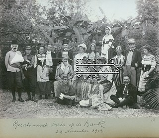 """Gecostumeerde Soirée"" | by Stichting Surinaams Museum"