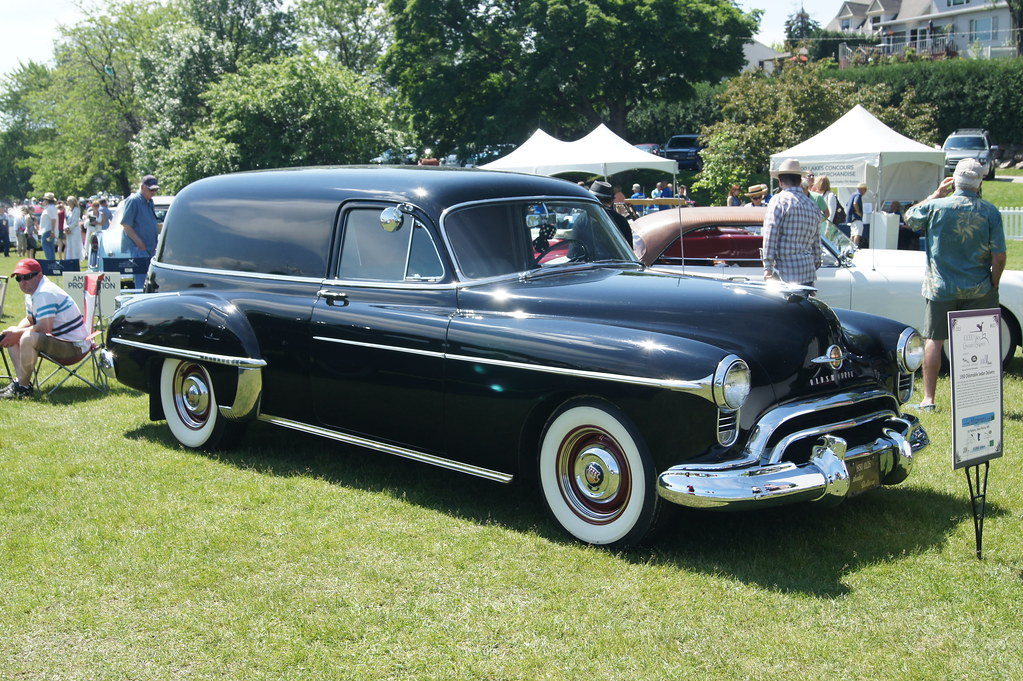1950 Oldsmobile Sedan Delivery | Beautiful weather, excellen… | Flickr