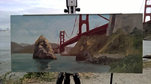 Painting from Richard Robinson's San Francisco Workshop | by zedshaw