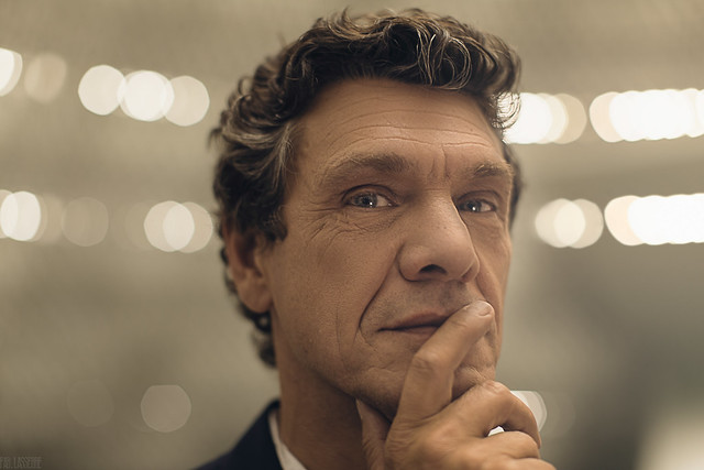 Portrait of The singer, songwriter and actor Marc Lavoine