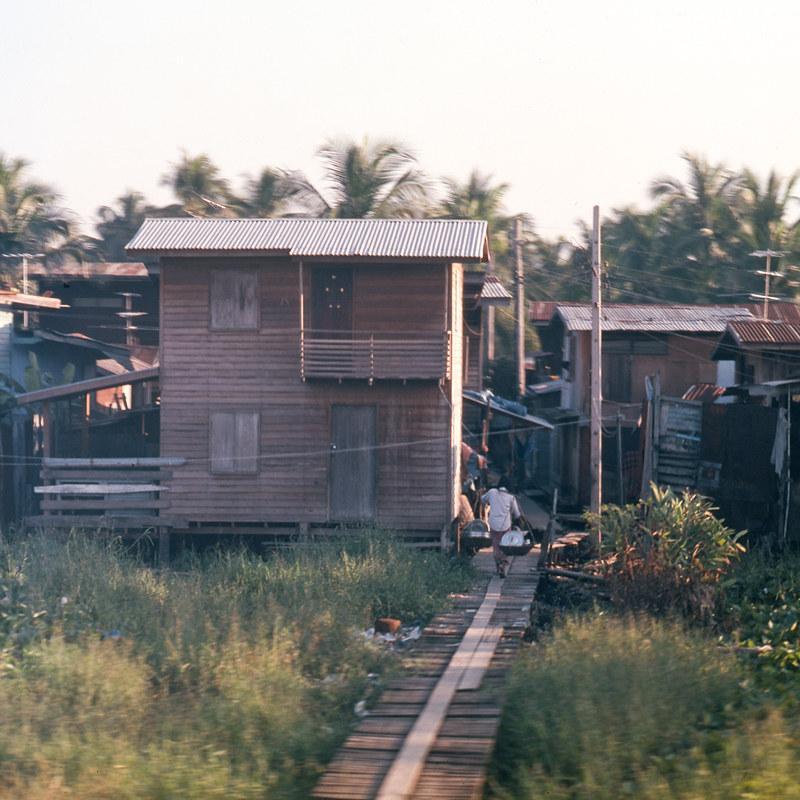 outside Bangkok, Thailand - 1978